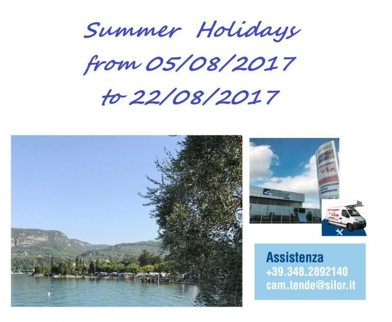 Summer Holidays 2017